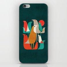Flock of Birds iPhone & iPod Skin