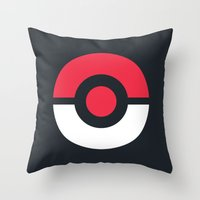 Pokeball Throw Pillow
