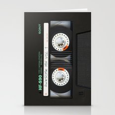 Cassette Classic Mix Stationery Cards