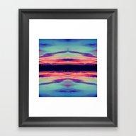 Upside Down.. Framed Art Print