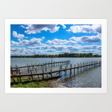 Buckeye Lake Art Print
