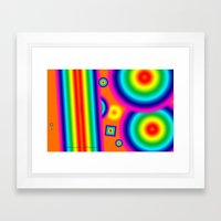 Psychedelich  Framed Art Print