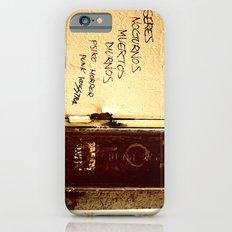 Palabras en la calle  Slim Case iPhone 6s
