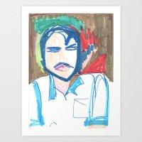 Male Man Art Print