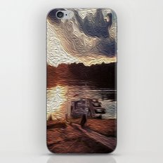 Oily Pontoons iPhone & iPod Skin