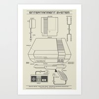 Entertainment System (light) Art Print