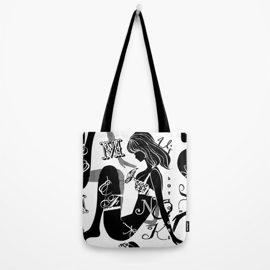 lingerie de luxe tote bag by chandelina society6. Black Bedroom Furniture Sets. Home Design Ideas