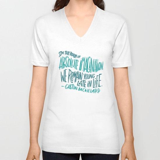 Absolute Imagination V-neck T-shirt