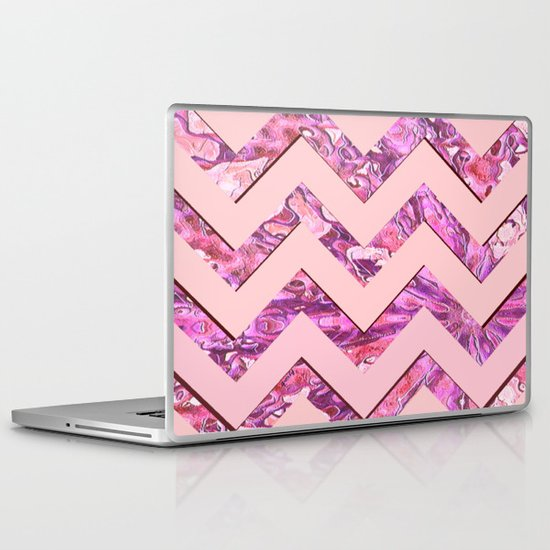 Girly Pink Laptop & iPad Skin