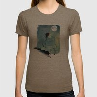 Reach Womens Fitted Tee Tri-Coffee SMALL