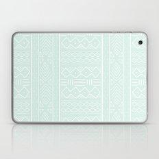 Mudcloth in mint Laptop & iPad Skin
