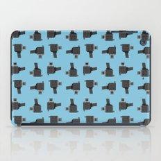 camera 03 pattern iPad Case
