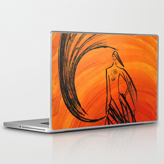 Angel under cover Laptop & iPad Skin