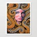 Octopussy Canvas Print
