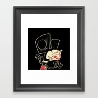 The Mouse Framed Art Print