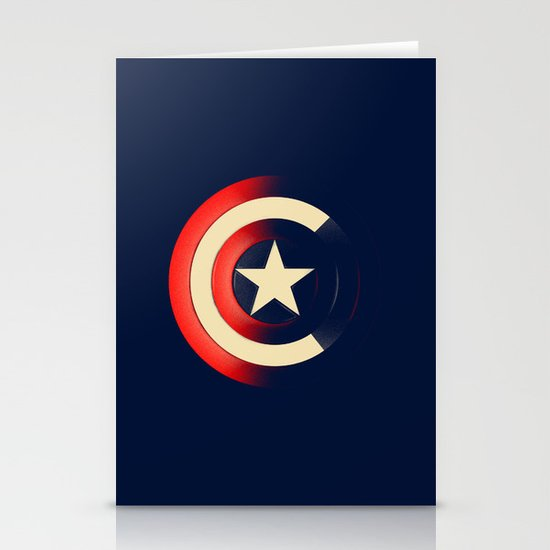 Captain Stationery Card