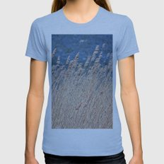 Ears With Wind Womens Fitted Tee Athletic Blue SMALL