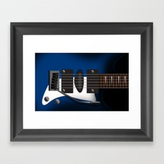 GUITAR MUSIC Framed Art Print
