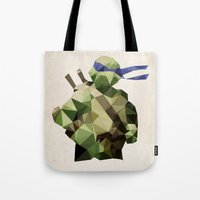 Polygon Heroes - Leonardo Tote Bag