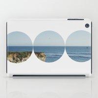 ROUND OCEAN iPad Case