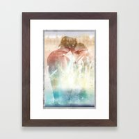 A Pause for Reflection Framed Art Print