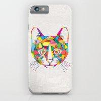 iPhone Cases featuring RainboCat by Fimbis