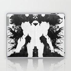 Samus Aran Metroid Geek Psychological Diagnosis Ink Blot  Laptop & iPad Skin