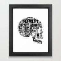 Shakespeare's Hamlet Sku… Framed Art Print