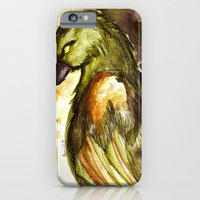 iPhone & iPod Case featuring The Raven by Bonnie J. Breedlove