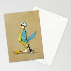 Blue Chickadee Stationery Cards