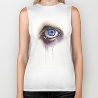 You Caught My Eye Biker Tank