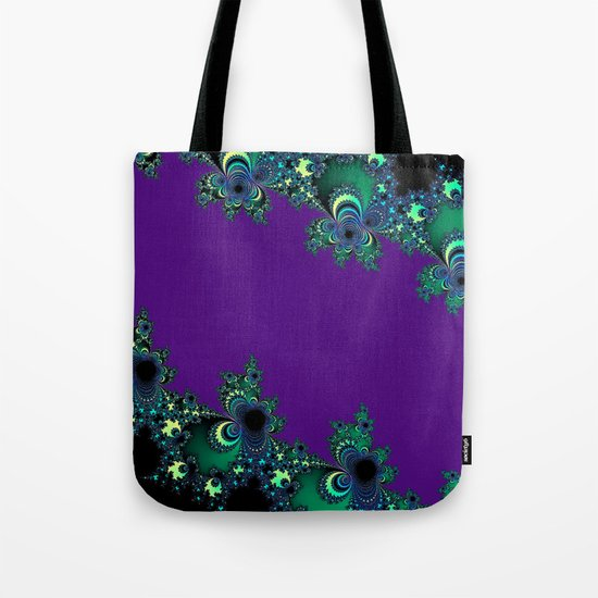 Asymmetrical Fractal 218 Tote Bag