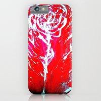 JUSSI FLOWER ROSE iPhone 6 Slim Case