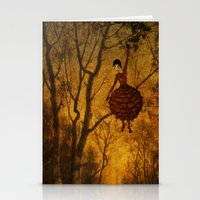 Pine Girl Stationery Cards