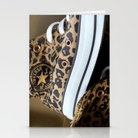 Converse Leopard All Sta… Stationery Cards