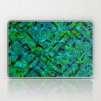 Vitrage (Turquoise) Laptop & iPad Skin