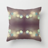 Bokeh Bokeh Bokeh Throw Pillow