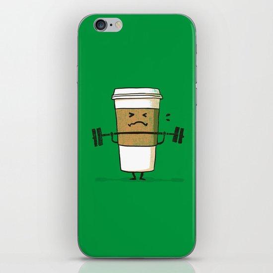 Strong Coffee iPhone & iPod Skin