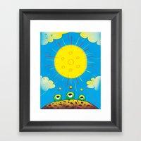 Solar Power Framed Art Print