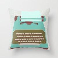 Type Throw Pillow
