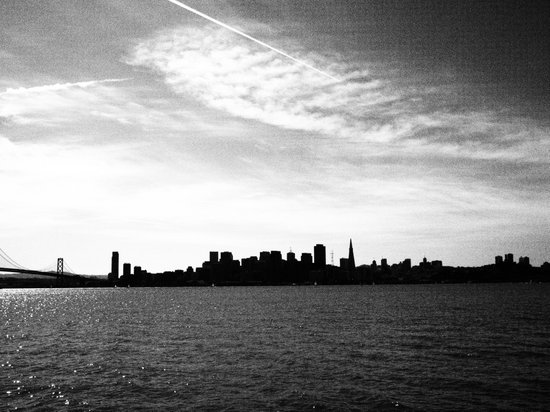 San Francisco Skyline as Seen from Treasure Island Art Print