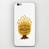 Take Off Your Shoes iPhone & iPod Skin