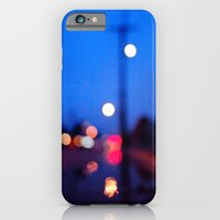 iPhone & iPod Case featuring Rainy night bokeh by Vorona Photography