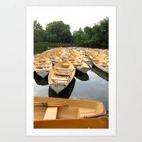 Bois De Boulogne Paris B… Art Print