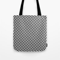 Houndstooth (Pepita) Tote Bag