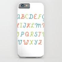 ABC...RGB... iPhone 6 Slim Case