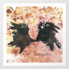 Rabbit, Rabbit! Art Print