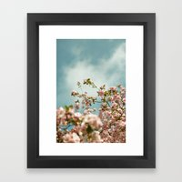 Saturday Sky #3 Framed Art Print