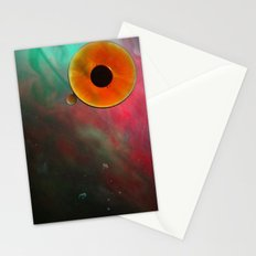 the eye sees all Stationery Cards