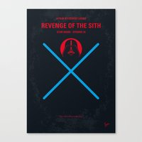 No225 My Star E-III minimal movie poster wars Canvas Print